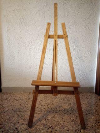 Caballete y Caja de pinturas