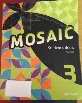 Libro 3 ESO Inglés Mosaic Student's Book
