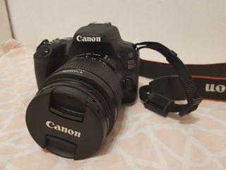 Canon 200D + 18-55 + (funda, filtros y tarjeta)