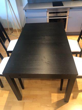 Mesa salón comedor y sillas Ikea