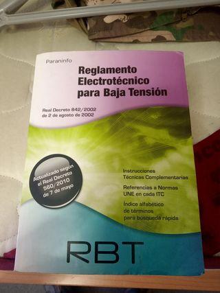 Reglamento Electrotécnico para baja tension