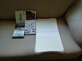 Wii balance board +Wii Sports+Wii fit+Wii Play....