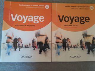 Libros inglés Voyage B2 EOI (nuevos)