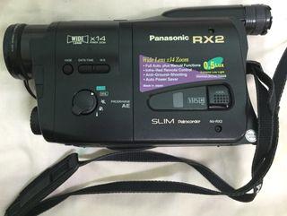 Camara de video Panasonic Slim Palmcorder nv RX 2