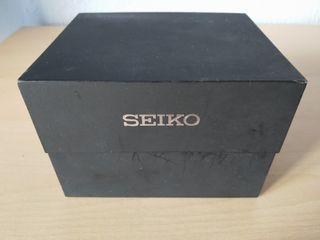 caja reloj seiko y garantia