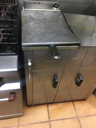 Módulo cocina industrial completo