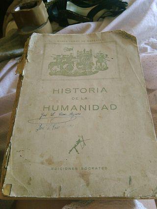 1957 libro hiStoria de la humanidad antiguo