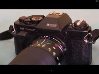cámara réflex analogica Ricoh KR5 Súper II