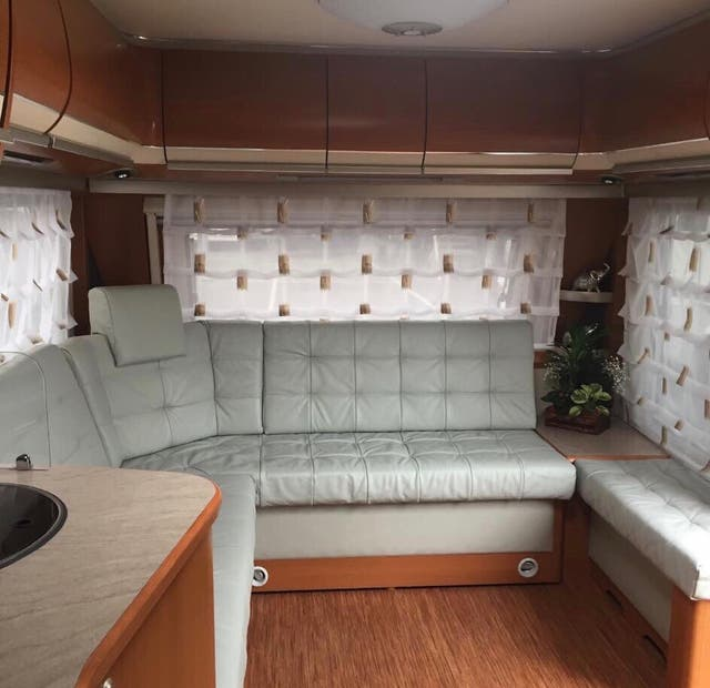 Fendt diamant 590 caravana