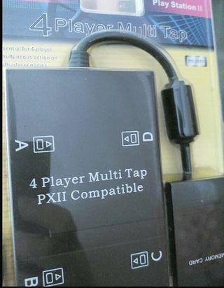 MultiTap PS2 Nuevo