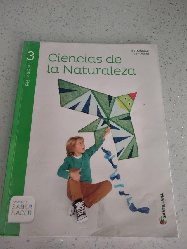 Libro tercero primaria ciencias de la naturaleza.