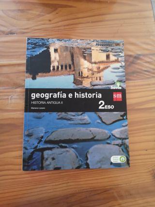 libro de geografía e hª 2 eso