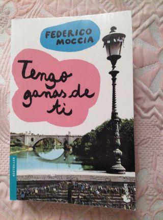 """LIBRO """"TENGO GANAS DE TI"""""""