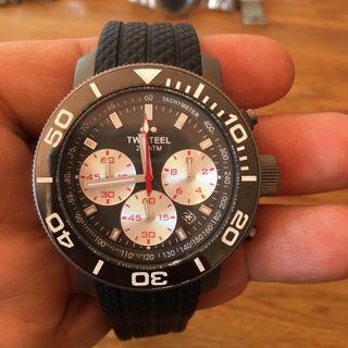 Reloj TW Steel 704 titanio chrono y diver