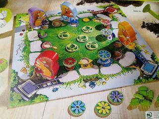 Las flores de colores de Laura - juego mesa Haba
