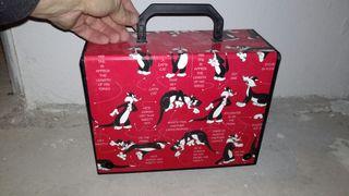 maletín gato Silvestre ( Warner bros)