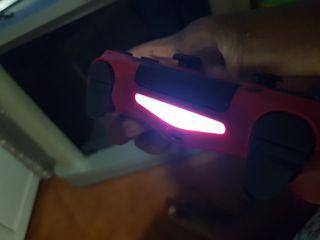 mando ps4 rojo, con caja (original)