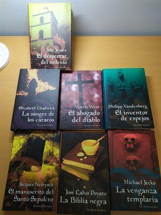Lote 7 libros misterio