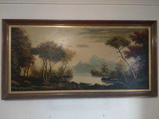 Pintura de paisaje.