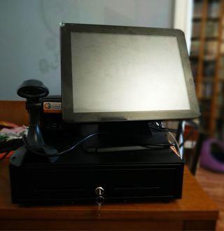 Caja registradora-ordenador-tpv