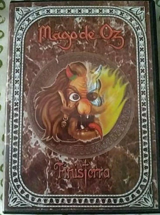 mago de Oz Finisterra dvd