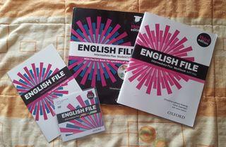 Libro de inglés English File para Nivel B2