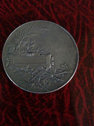 moneda-medalla plata