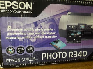 Impresora de fotos Epson Styllus R340