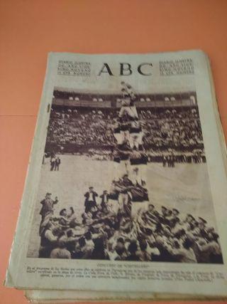 periódicos antiguos ABC