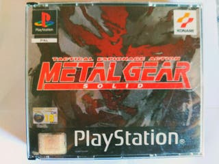 Metal Gear Solid 1 Psx1