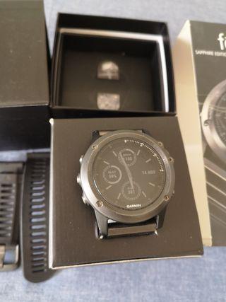 Reloj deportivo con GPS GARMIN FÉNIX 3 SAPHIRE