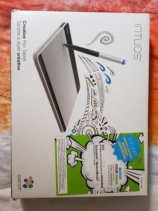 Tableta gráfica Wacom Intuos Creative Pen Tablet.
