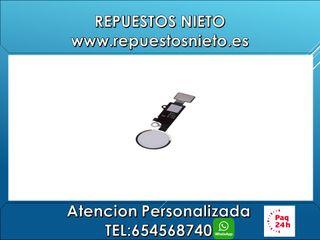 Boton iPhone 7 7+ iPhone 8 8+ ( Blanco )