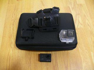 Camara de video Go-Pro SJ4000 WiFi y accesorios