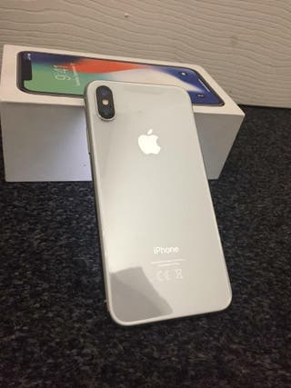 iPhone X 64gb fully boxed