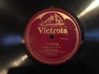 Discos de pizarra / piedra 78 rpm