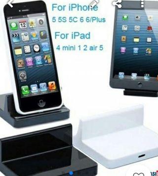 Docking iphone/iPad (LATERALES ABIERTOS)