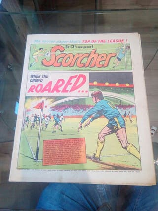 comic/periodico futbol ingles 31-10- 1970