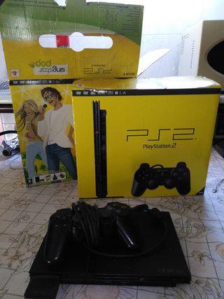 Playstation 2 en caja