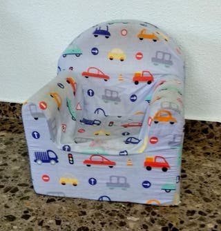 Sofá sillón espuma infantil niño bebe