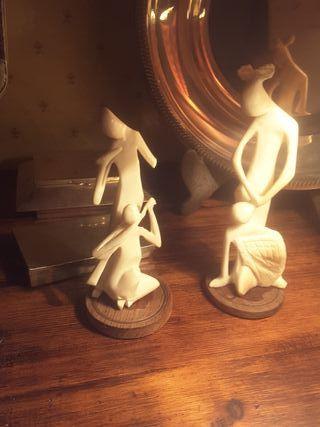 esculturas 15 cm marfil