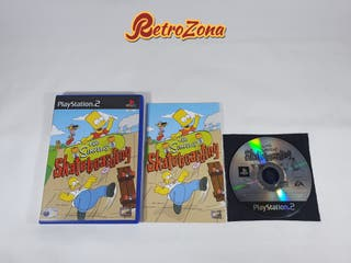 The Simpsons Skateboarding PS2