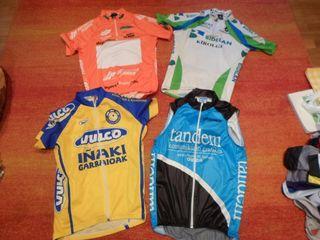 3 maillot bicicleta y chaleco bioracee etxe-ondo M