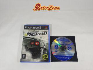 NFS ProStreet PS2