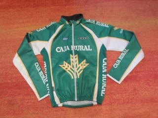 maillot termico bicicleta caja rural maglia sport