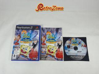 Bob Esponja y Amigos: ¡Unidos! PS2
