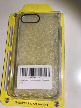 Funda iphone 7 y 8 plus color blanco