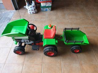 Tractor eléctrico (con batería a estrenar)