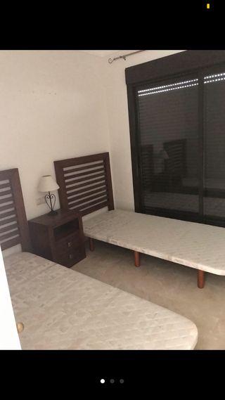 Bases de cama tapizadas