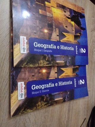 libros Geografia Historia 2 Eso editorial Edebe